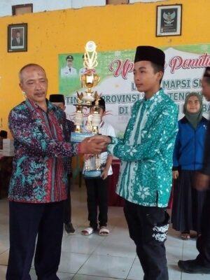 Juara 1 Kaligrafi Tingkat Kabupaten Rembang