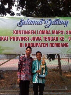 Juara Harapan Mapsi Cabang Kaligrafi Tingkat Propinsi Jawa Tengah